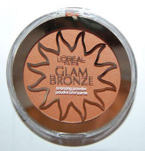 L'OREAL Glam Bronze Bronzing Powder Tropical Bronze